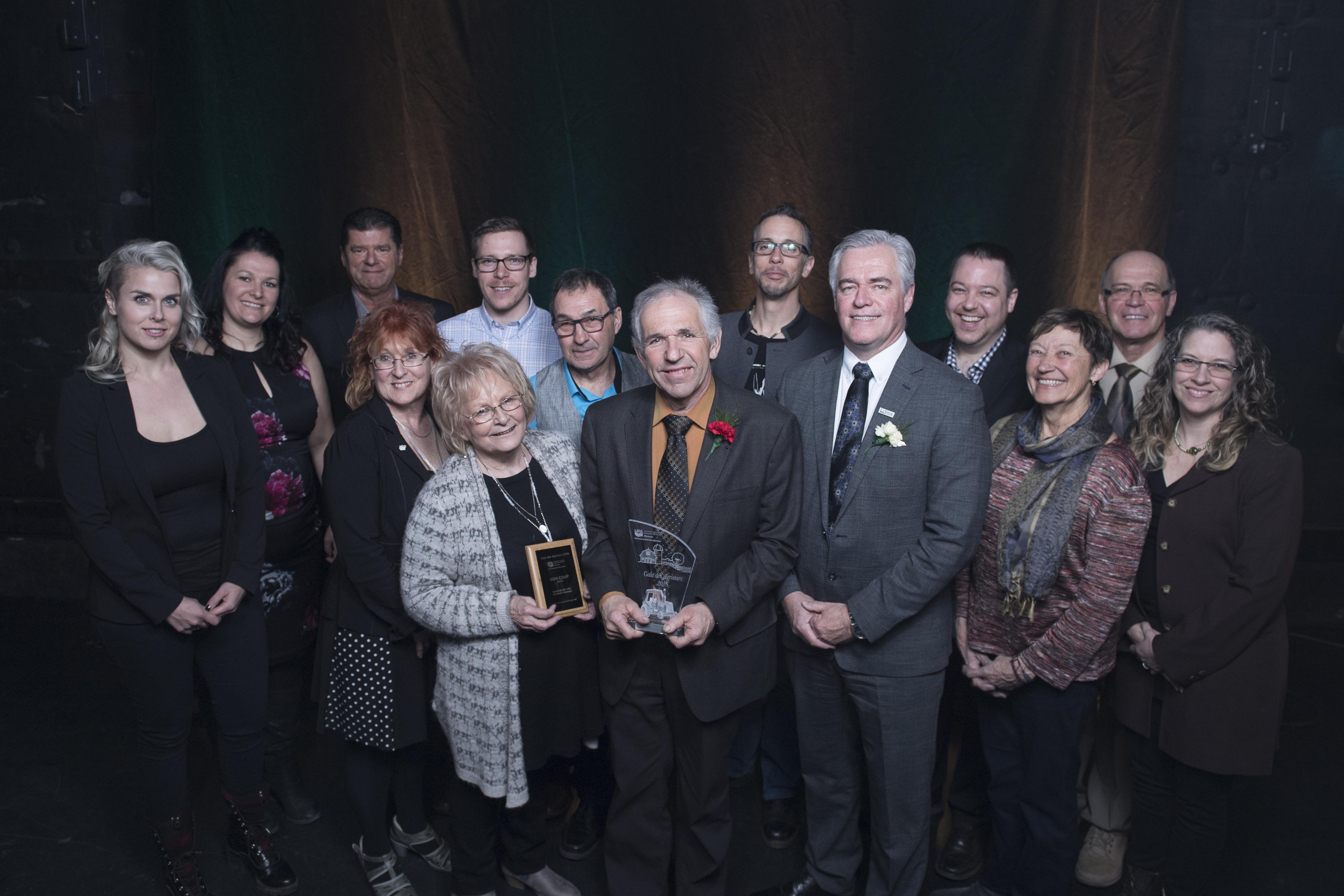 Le Fonds de microcrédit agricole de La Haute-Yamaska remporte un prix au gala des Agristars