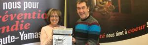 Salon Habitation Granby et Région : une heureuse gagnante du caquelon à fondue