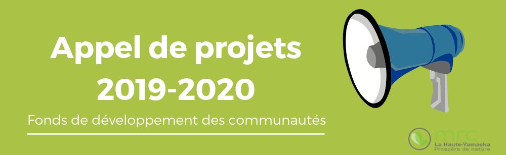 Fonds de développement des communautés 2019-2020 : de nouveaux projets mobilisateurs recherchés