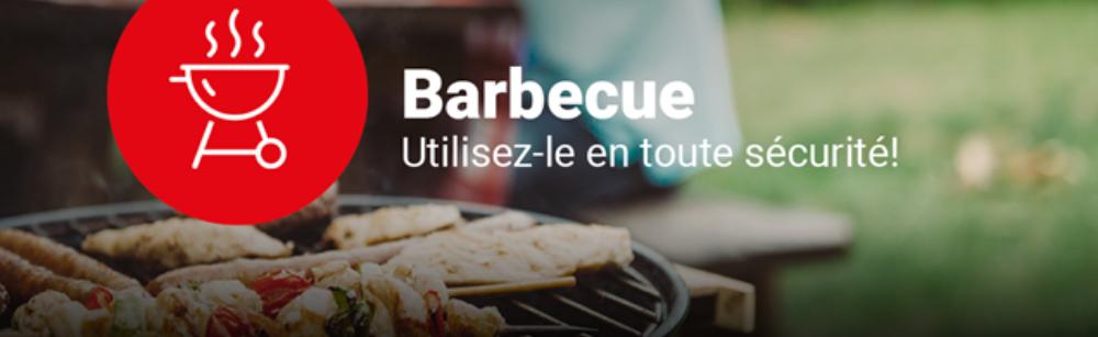 Barbecue : utilisez-le en toute sécurité!