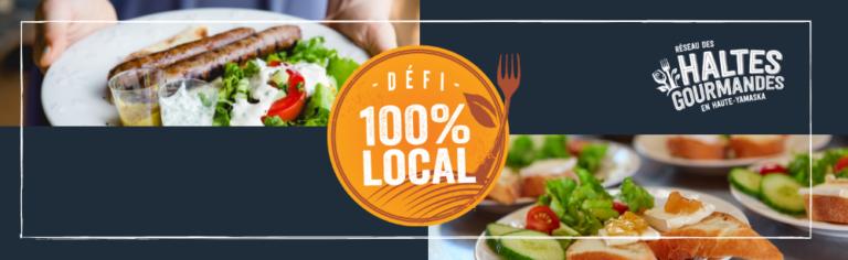 [CONCOURS] Du 11 au 30 septembre, les Haltes gourmandes vous mettent au défi de manger 100 % local!