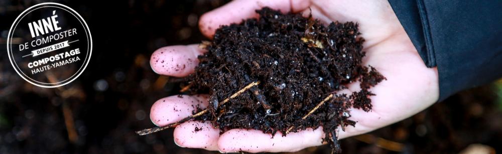 Distribution gratuite de compost issu de la collecte des matières organiques