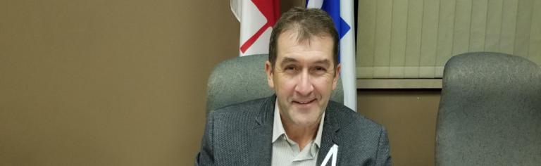 Paul Sarrazin réélu à titre de préfet de la MRC de La Haute-Yamaska