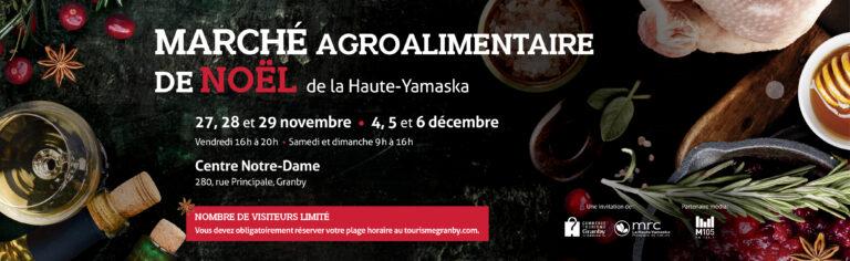 Marché agroalimentaire de Noël de la Haute-Yamaska : une 12<sup>e</sup> édition réinventée et réussie