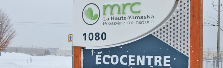 Reconfinement : les écocentres de la Haute-Yamaska demeurent ouverts