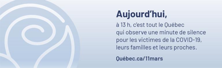 Journée de commémoration pour les victimes de la COVID-19