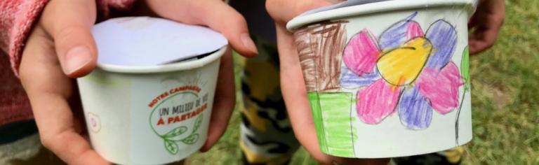 Des animations dans les camps de jour pour faire découvrir le milieu agricole aux enfants