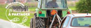 Cohabitation harmonieuse en zone agricole en Montérégie – Le partage de la route
